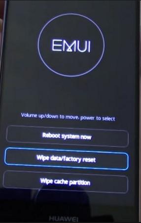 Huawei MediaPad M5 10 Pro как сделать заводской сброс (hard reset)